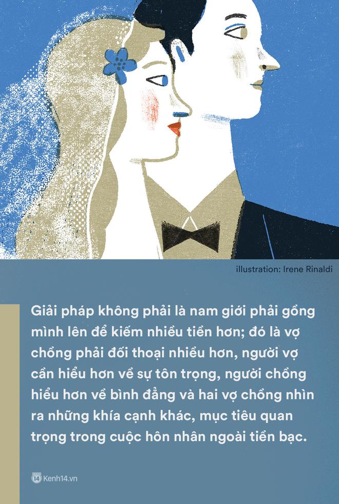 Kiếm ít tiền hơn vợ: Một câu nói mà gợi nỗi buồn của không biết bao nhiêu ông chồng Việt - ảnh 4