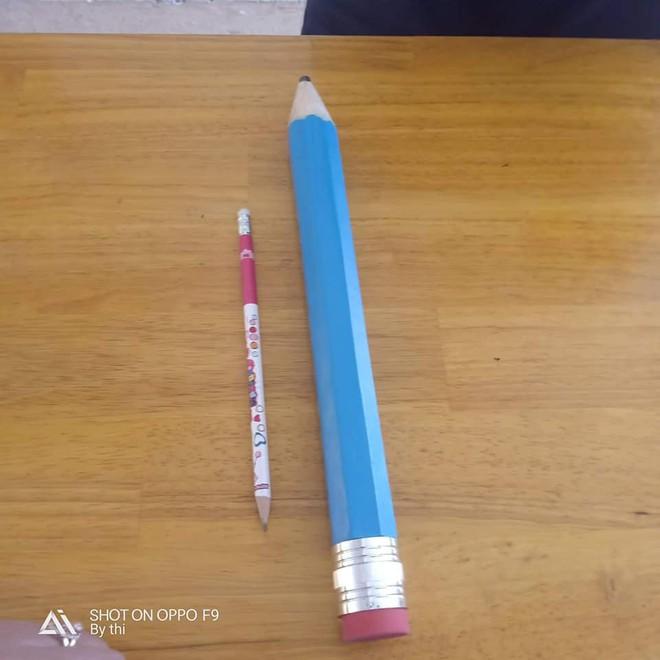 Nữ sinh quyết định mua hẳn ngòi bút siêu to khổng lồ, vừa dùng được cả năm lại tránh được lũ hay mượn đồ - ảnh 2
