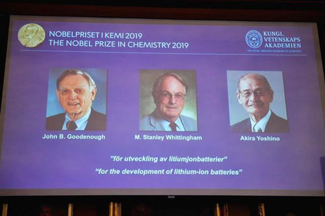 Nobel Hóa học 2019 vinh danh bước tiến lớn của nhân loại - ảnh 1