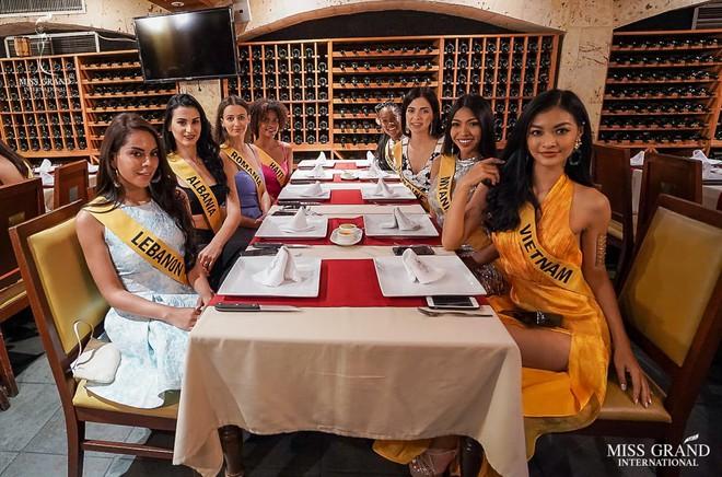 Á hậu Kiều Loan liên tục chiếm spotlight, chỉ với cách đơn giản đã ghi điểm tuyệt đối tại Miss Grand International 2019 - ảnh 2
