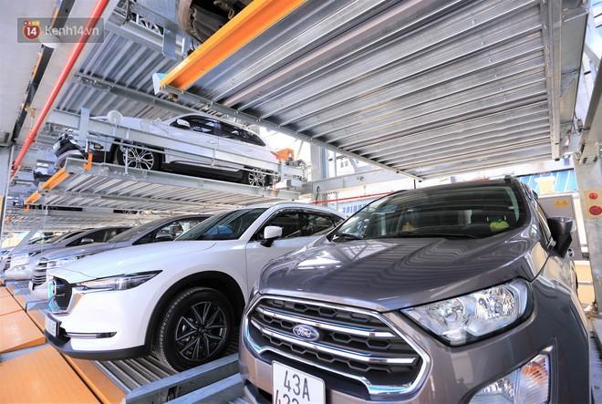 Cận cảnh bãi đỗ xe 6 tầng thông minh, tự động xếp hình đầu tiên ở Đà Nẵng - ảnh 4