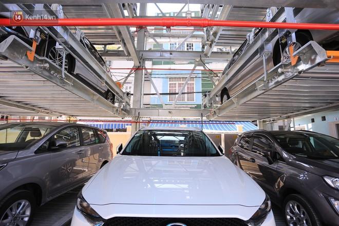 Cận cảnh bãi đỗ xe 6 tầng thông minh, tự động xếp hình đầu tiên ở Đà Nẵng - ảnh 2