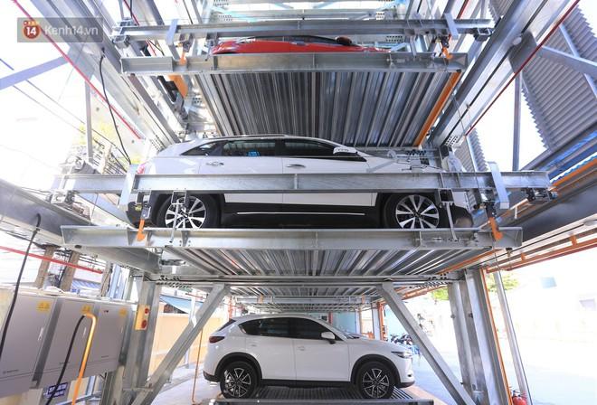 Cận cảnh bãi đỗ xe 6 tầng thông minh, tự động xếp hình đầu tiên ở Đà Nẵng - ảnh 3