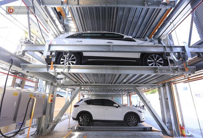 Cận cảnh bãi đỗ xe 6 tầng thông minh, tự động xếp hình đầu tiên ở Đà Nẵng - ảnh 16
