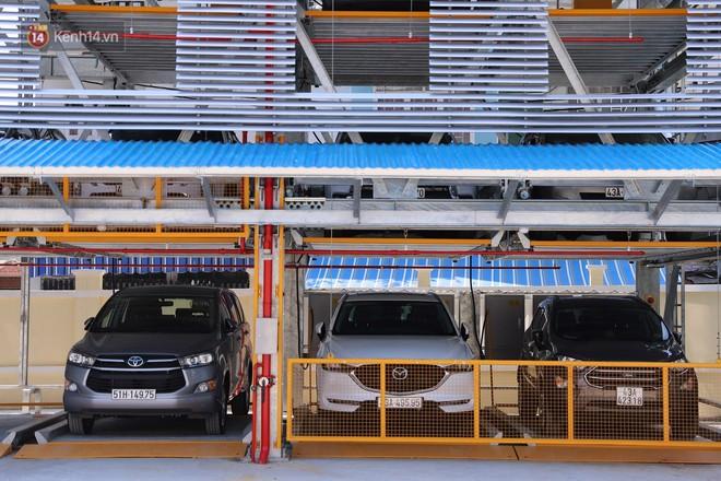 Cận cảnh bãi đỗ xe 6 tầng thông minh, tự động xếp hình đầu tiên ở Đà Nẵng - ảnh 8