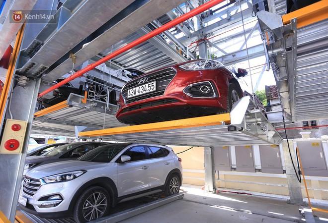 Cận cảnh bãi đỗ xe 6 tầng thông minh, tự động xếp hình đầu tiên ở Đà Nẵng - ảnh 10