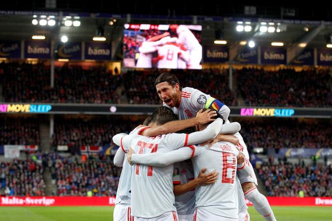 Bàn thua nghiệt ngã khiến tuyển Tây Ban Nha hụt vé sớm dự Euro 2020 - ảnh 2