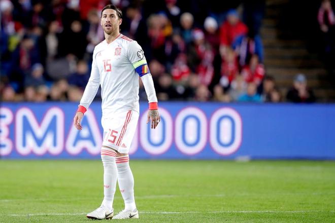 Bàn thua nghiệt ngã khiến tuyển Tây Ban Nha hụt vé sớm dự Euro 2020 - ảnh 1