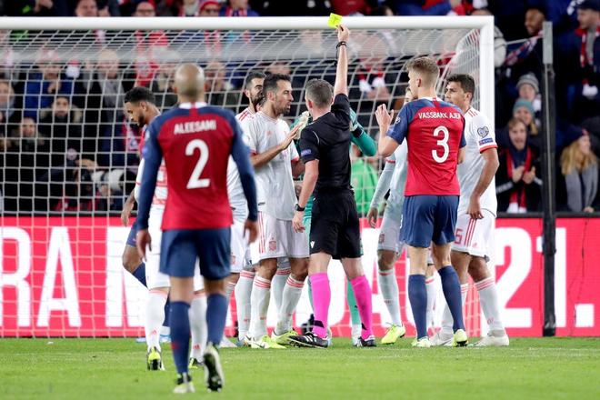 Bàn thua nghiệt ngã khiến tuyển Tây Ban Nha hụt vé sớm dự Euro 2020 - ảnh 5