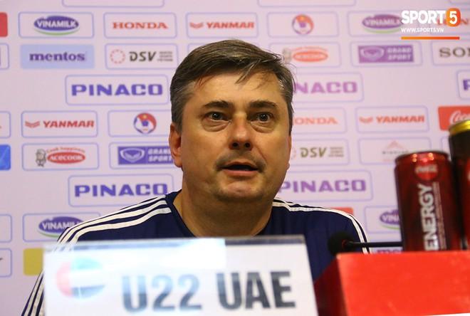 HLV U22 UAE ngỡ ngàng với sự phát triển vượt bậc của bóng đá Việt Nam - Ảnh 1.