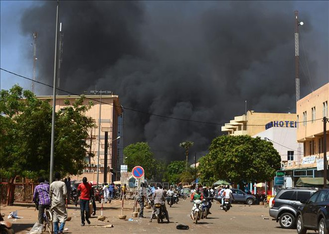 Tấn công nhà thờ Hồi giáo ở Burkina Faso, 16 người thiệt mạng - ảnh 1