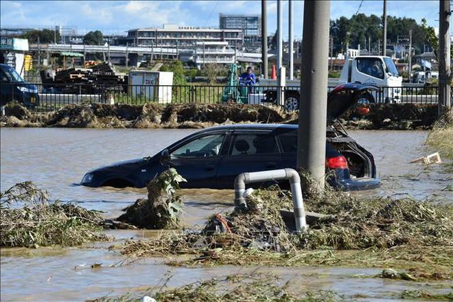 Siêu bão Hagibis cuốn trôi lượng lớn rác thải sau khử xạ tại Nhật Bản - ảnh 1
