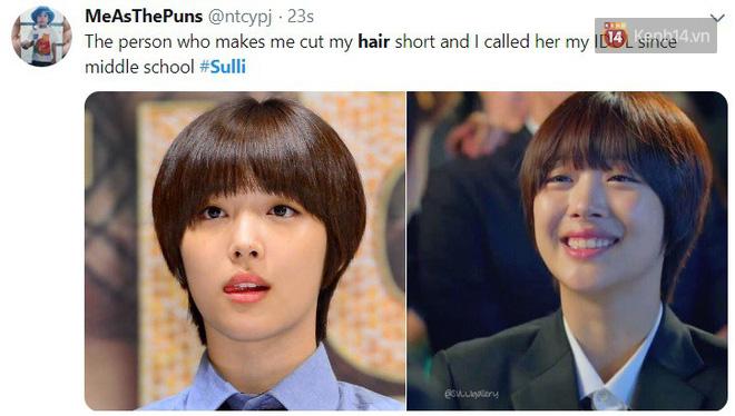 Sulli từng có vô vàn hình tượng lộng lẫy nhưng đây mới là kiểu tóc khiến các fan ôn lại kỷ niệm nhiều nhất lúc này - ảnh 9