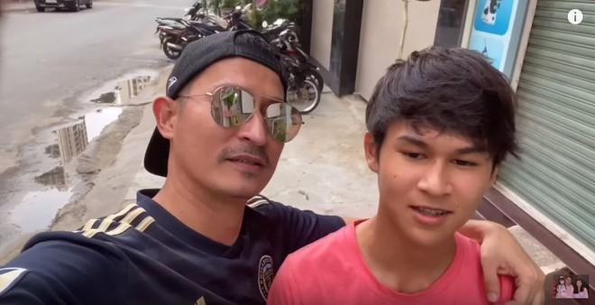 Con trai Huy Khánh sở hữu vẻ ngoài điển trai và chiều cao 1m8 dù mới 14 tuổi: Đúng là con nhà tông! - ảnh 2