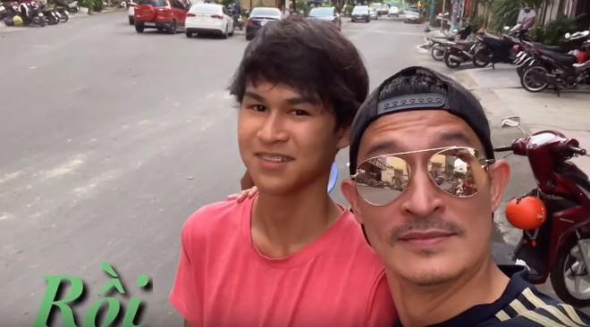 Con trai Huy Khánh sở hữu vẻ ngoài điển trai và chiều cao 1m8 dù mới 14 tuổi: Đúng là con nhà tông! - ảnh 1