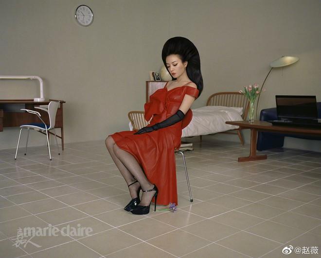 Hình ảnh gây sốt Weibo: Triệu Vy của 21 năm trước và bây giờ vẫn chẳng thay đổi, bảo sao Huỳnh Hiểu Minh ngày ấy say mê - ảnh 19