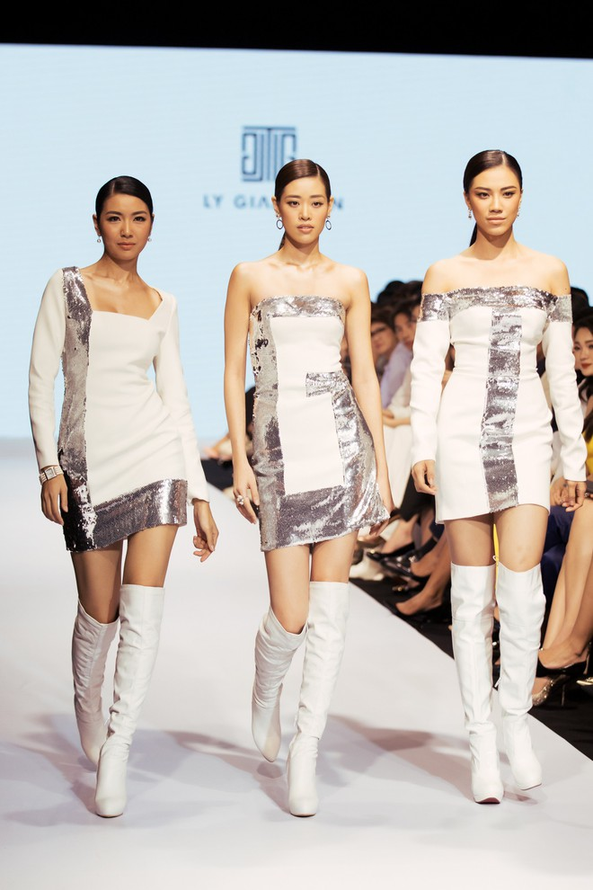 Bị chê catwalk tệ, Thúy Vân vẫn đắt show hơn Hương Ly tại Hoa hậu Hoàn vũ VN - ảnh 3