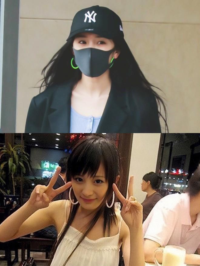 Lên đồ sành điệu là thế nhưng Dương Mịch lại hứng chí đeo đôi khuyên tai loè loẹt xì tin đậm chất hot girl Việt những năm 2000 - ảnh 3