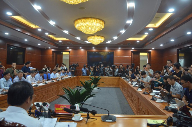 Họp báo công bố thông tin ô nhiễm nguồn nước sạch cung cấp cho thành phố Hà Nội - ảnh 1
