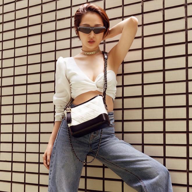 Hơn 3 tháng nữa mới đến Tết nhưng Bảo Anh đã lên đồ cosplay đòn bánh tét rồi - ảnh 8