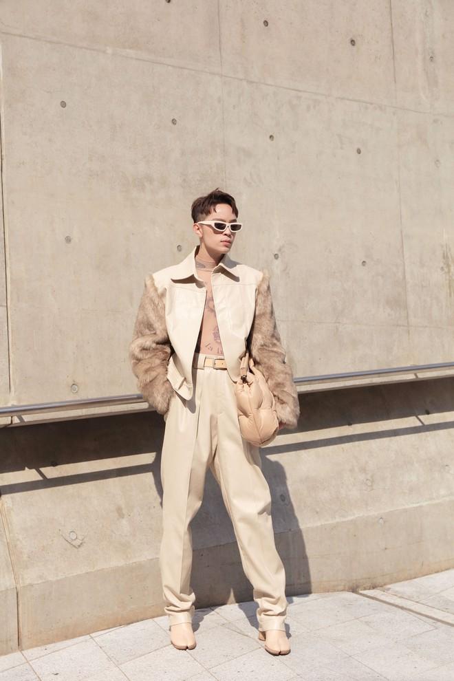 Seoul Fashion Week: Kelbin Lei, Huỳnh Tiên lọt top mặc đẹp của Vogue; Khổng Tú Quỳnh lần đầu chinh chiến - ảnh 3