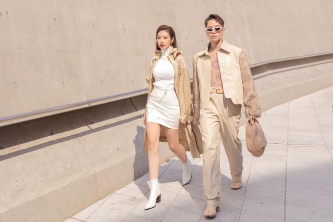 Seoul Fashion Week: Kelbin Lei, Huỳnh Tiên lọt top mặc đẹp của Vogue; Khổng Tú Quỳnh lần đầu chinh chiến - ảnh 4