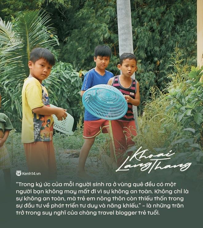 """Khoai Lang Thang - người """"gieo những hạt mầm tử tế - ảnh 2"""
