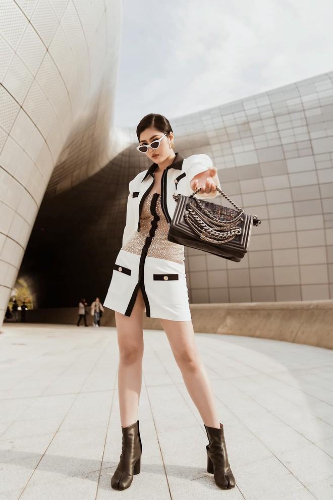 Seoul Fashion Week: Kelbin Lei, Huỳnh Tiên lọt top mặc đẹp của Vogue; Khổng Tú Quỳnh lần đầu chinh chiến - ảnh 7
