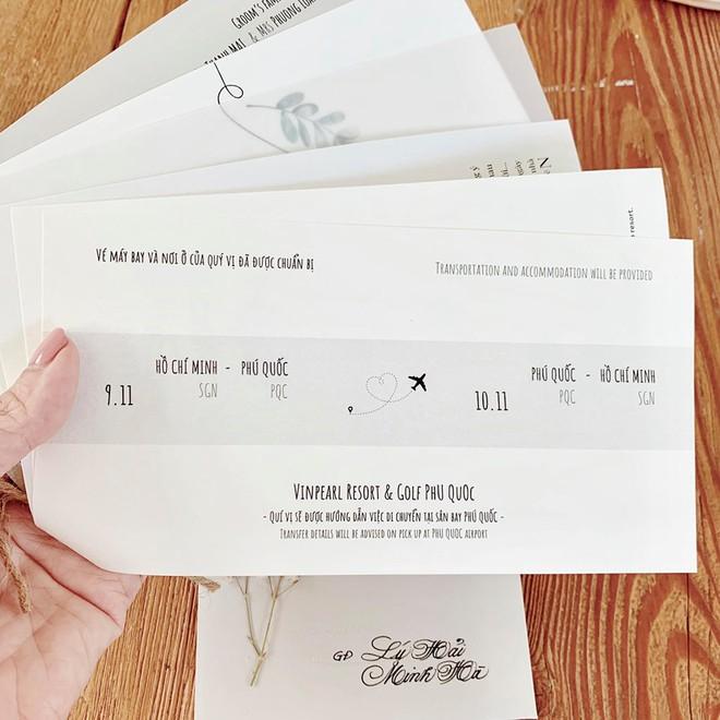 Công bố thiệp mời đám cưới của Đông Nhi - Ông Cao Thắng: Gây chú ý khi in câu nói đặc biệt, lộ yêu cầu cho khách mời tham gia! - Ảnh 2.