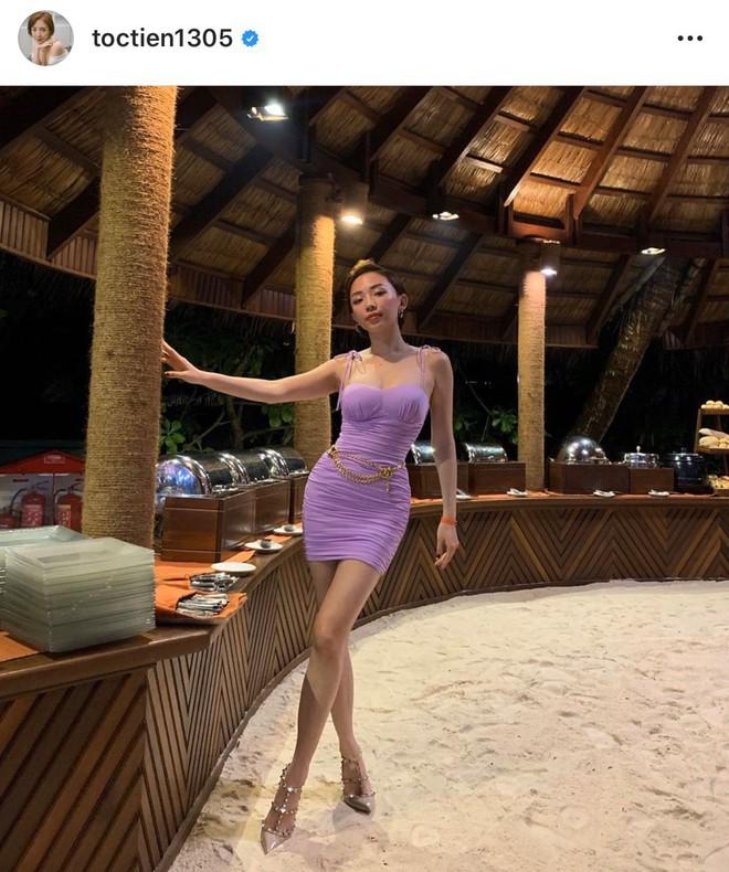 Trái ngược ảnh bị dìm, Tóc Tiên tung loạt khoảnh khắc khoe body cực gợi cảm trong kỳ nghỉ ở Maldives - ảnh 2