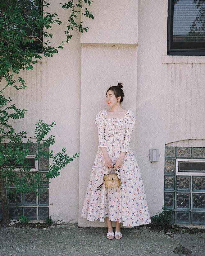 Bỗng thấy không kiểu váy nào vượt qua được váy dài về độ sang chảnh, yêu kiều và hợp rơ với tiết trời se lạnh - ảnh 6