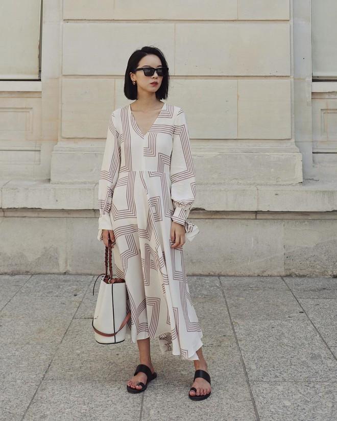 Bỗng thấy không kiểu váy nào vượt qua được váy dài về độ sang chảnh, yêu kiều và hợp rơ với tiết trời se lạnh - ảnh 7