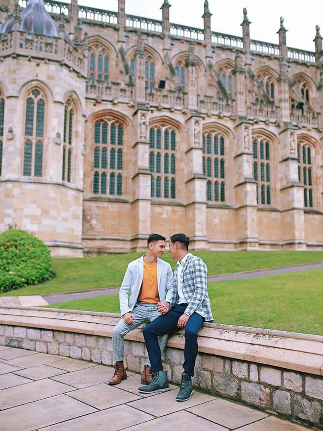 Hồ Vĩnh Khoa và bạn đời tung bộ ảnh kỷ niệm 2 năm ngày cưới tại London: Ngọt ngào tan chảy, nhìn mà ghen tị! - Ảnh 3.