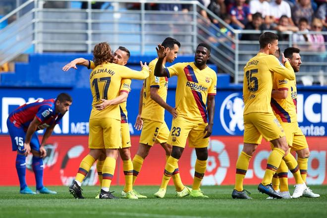 Messi, Suarez và tân binh 120 triệu euro cùng nổ súng, Barcelona đại thắng tại vòng 9 La Liga - ảnh 9