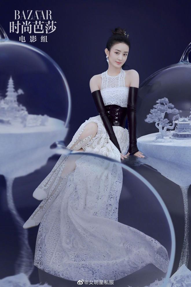 Triệu Lệ Dĩnh và 3 lần lên bìa tạp chí thời trang: từ chỗ bị chê ỏng eo nay đã lên level xuất sắc cả về phong cách lẫn thần thái - ảnh 5