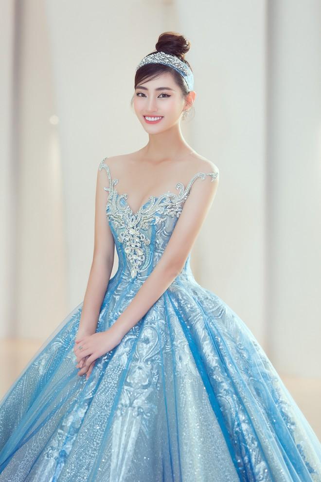Khoảnh khắc xinh đẹp: Dàn Hoa hậu, Á hậu đình đám Vbiz đọ sắc, hoá Cinderella lộng lẫy như bước ra từ cổ tích - ảnh 7