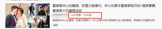 Rộ tin Lâm Tâm Như ly hôn, giành được quyền nuôi con, hàng tháng đòi Hoắc Kiến Hoa phải chu cấp 70 tỷ - ảnh 2