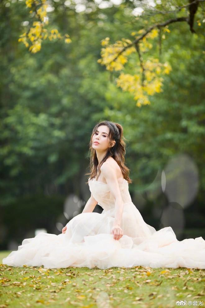 Tiểu Long Nữ Lý Nhược Đồng bất ngờ khoe ảnh váy cưới ở tuổi 46, lý do đằng sau khiến Cnet dở khóc dở cười - ảnh 2