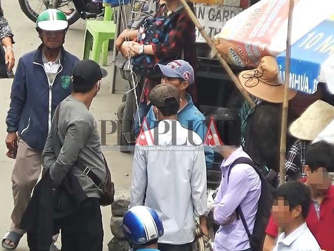 Băng móc túi khu Suối Tiên dọa đánh chết phóng viên - ảnh 1