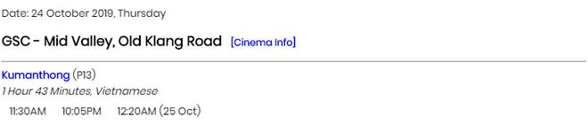 Phim kinh dị 18+ Thất Sơn Tâm Linh xuất ngoại sang Malaysia được gắn nhãn 13+? - Ảnh 2.