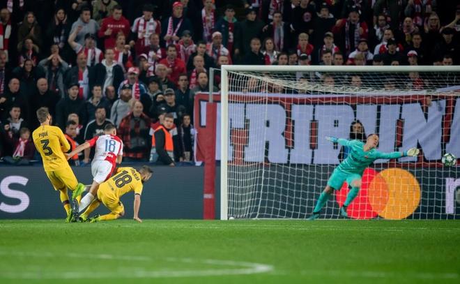 Messi lại lập kỉ lục, Barcelona suýt mất điểm tại Prague - ảnh 5