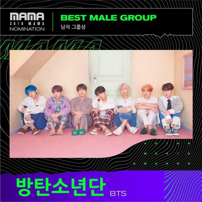 Đề cử MAMA 2019: Có hạng mục nghệ sĩ nào thắng cũng xứng, hạng mục thì nhìn vô biết ngay chủ nhân giải thưởng - ảnh 6