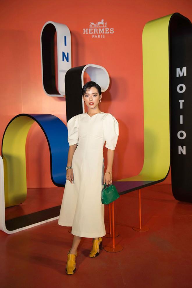 Châu Bùi, Thảo Nhi Lê cá tính; Khánh Linh lại nữ tính hết sức dự triển lãm Hermès Heritage - ảnh 6