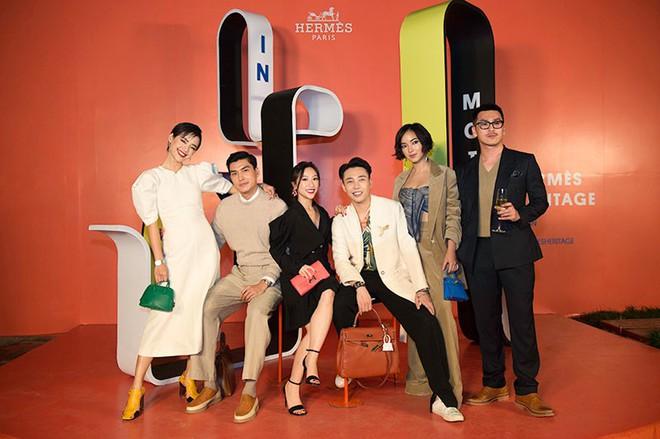Châu Bùi, Thảo Nhi Lê cá tính; Khánh Linh lại nữ tính hết sức dự triển lãm Hermès Heritage - ảnh 1