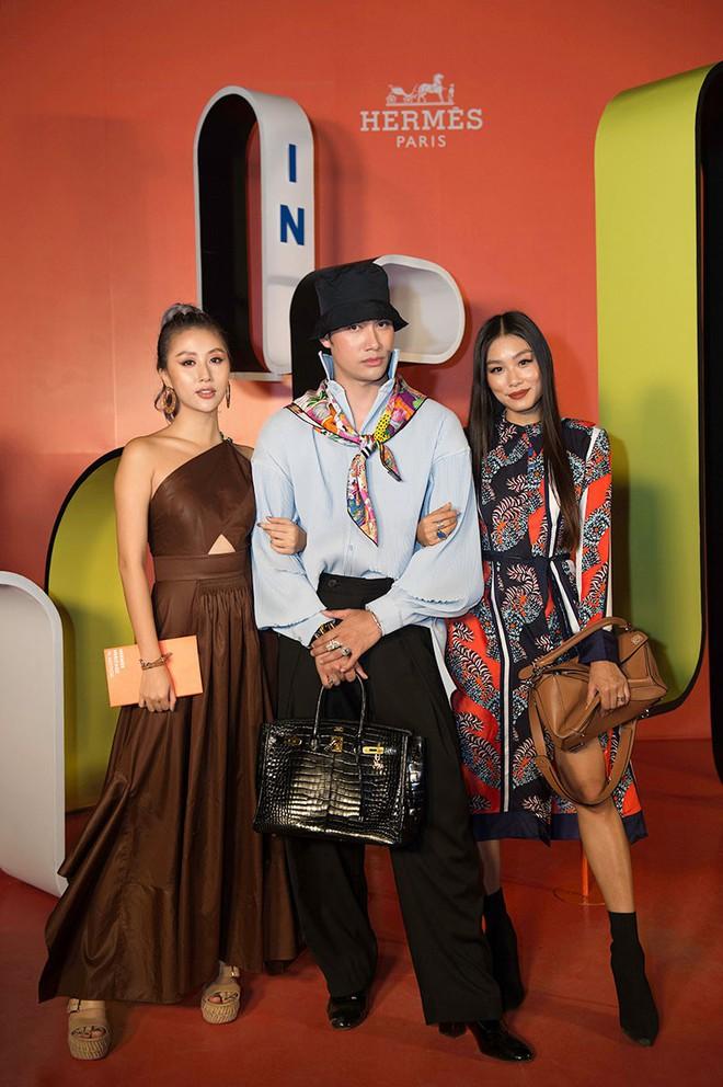 Châu Bùi, Thảo Nhi Lê cá tính; Khánh Linh lại nữ tính hết sức dự triển lãm Hermès Heritage - ảnh 2