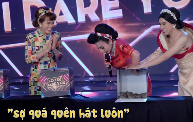 Su Su Gia Huy đầu tư 200 triệu đồng cho show hát lô tô với... ếch, lươn, trăn - ảnh 2