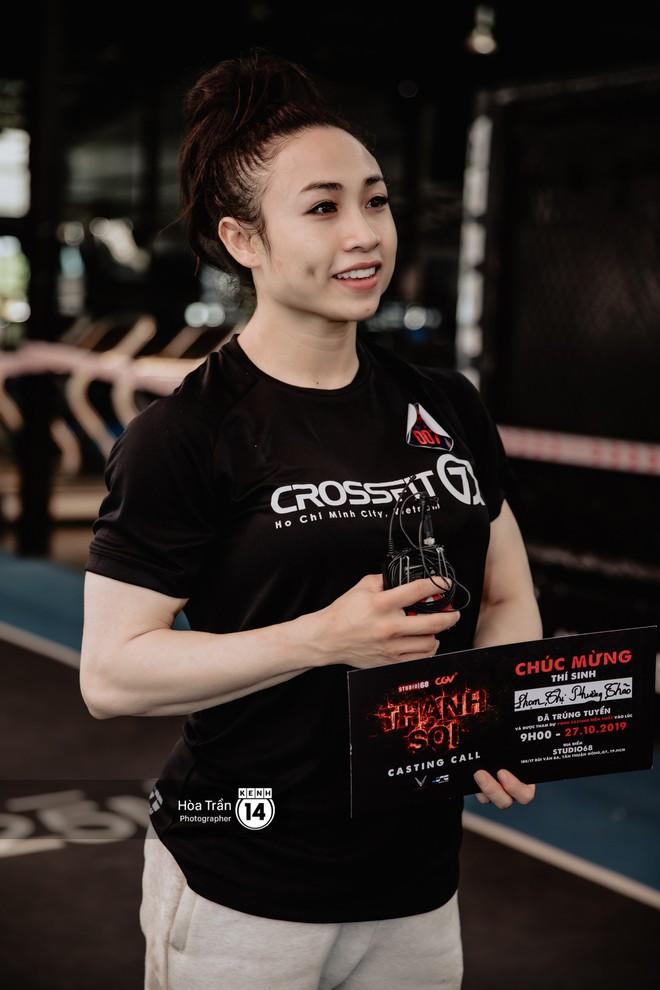 9 đả nữ tiềm năng ở buổi casting Thanh Sói: Đồng Ánh Quỳnh - Lily Nguyễn ra đòn máu lạnh, xuất hiện thêm nữ gymer cơ bắp ăn đứt Thanh Sói - ảnh 19