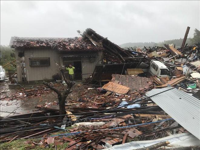 Hàng chục người thiệt mang, mất tích vì mưa bão tại Ai Cập, Nhật Bản - ảnh 1