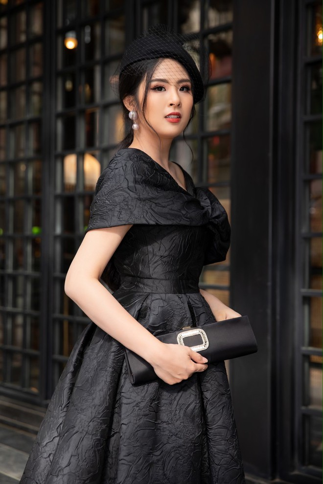 Dàn Hoa hậu, Á hậu hot nhất nhì Vbiz váy áo lộng lẫy, đụng độ bất phân thắng bại trong một khung hình - ảnh 5