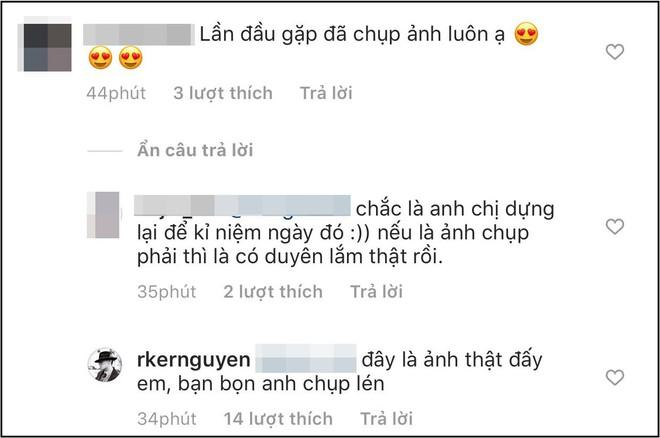 Khoe ảnh lần đầu gặp bạn gái tình cờ như phim ngôn tình, Rocker Nguyễn khiến netizen không khỏi thắc mắc vì 1 chi tiết - ảnh 2